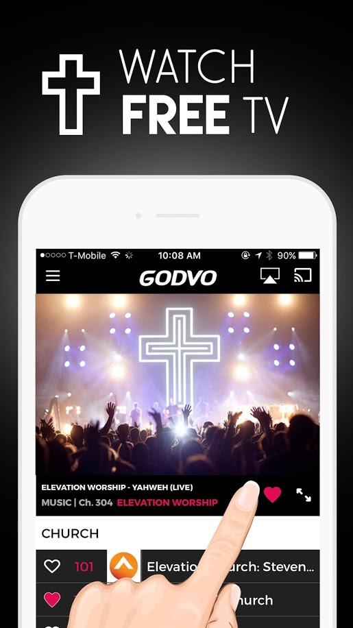 GODVO - Watch Christian TV, Jesus Christ, God
