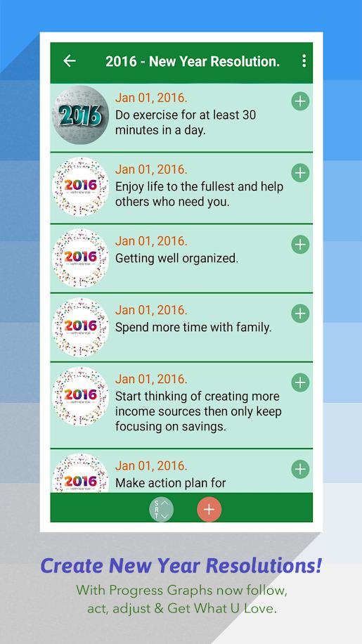 Progress Graphs - Daily Diary, Goals, Album & More